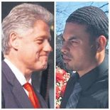 Eski Başkan Clinton'a melez oğul şoku