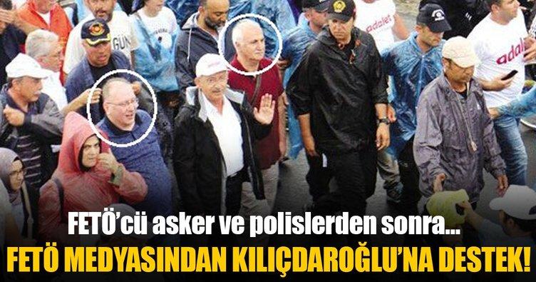 FETÖ medyasından Kılıçdaroğlu'na destek!