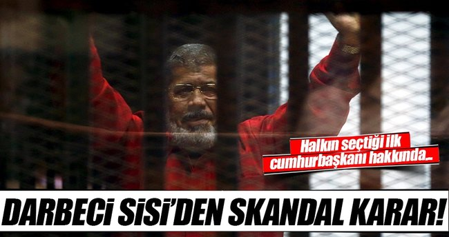 Mursi'nin cezası onandı