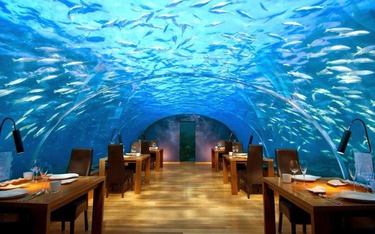 Dünyanın ilk denizaltı restoranı!