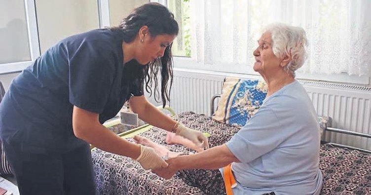 Yaşlı ve hastalar güvenli ellerde
