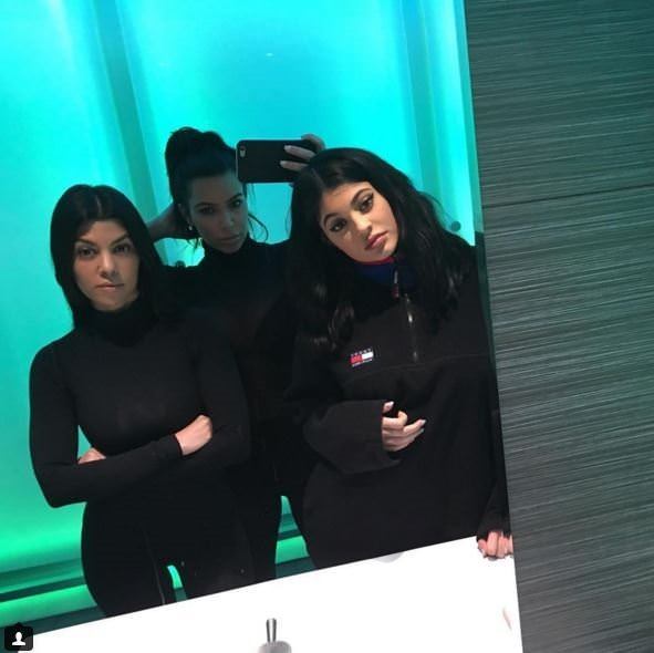 Kim Kardashian'ı doğumdan sonra görenler tanıyamadı