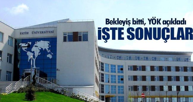 Kapatılan Üniversiteler için ÖSYS sonuçları açıklandı