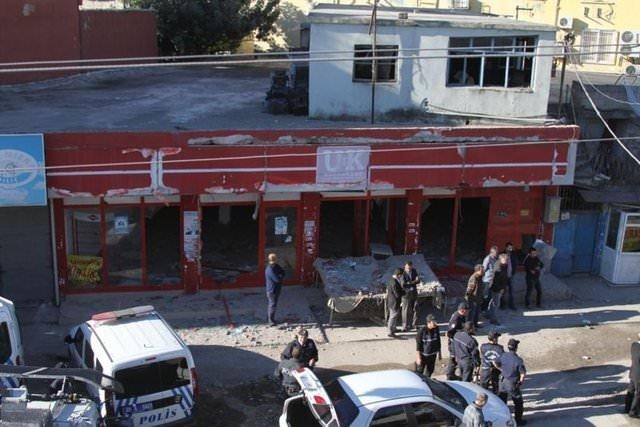 Adana'daki saldırıdan kareler