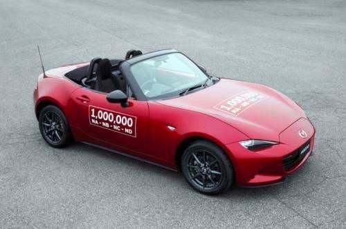 Mazda MX-5 1 milyonu devirdi