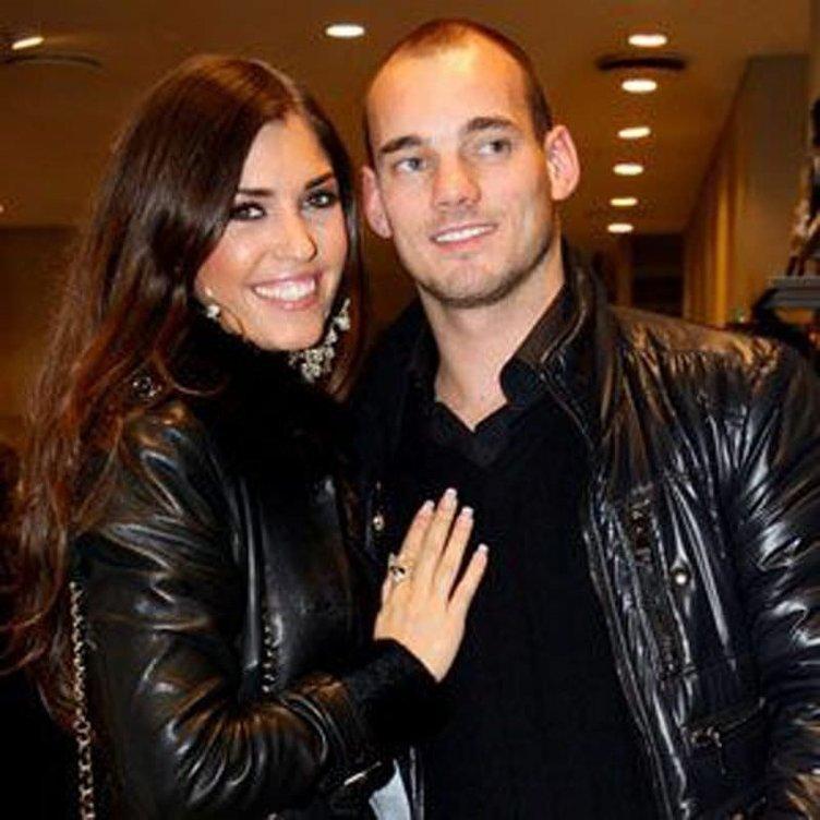 Sneijder'in dillere destan eşi: Yolanthe Cabau