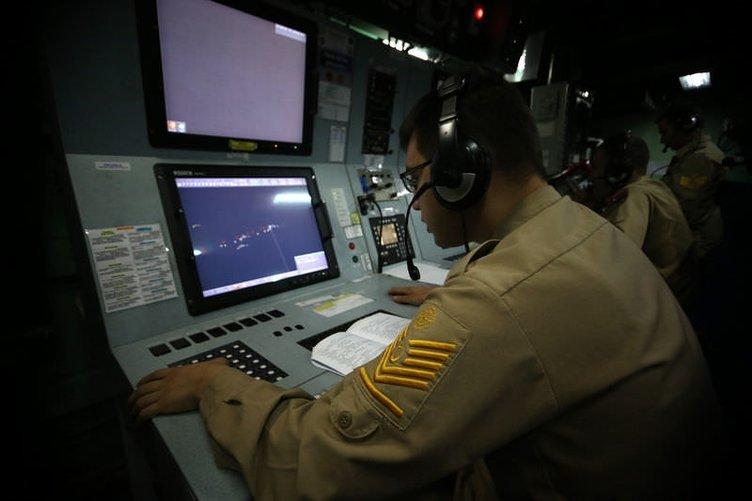 Gemilerin koruyucu kalkanı: Savaş Harekat Merkezi