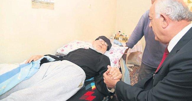 Başkan Seyfi Dingil yaşlıları unutmadı