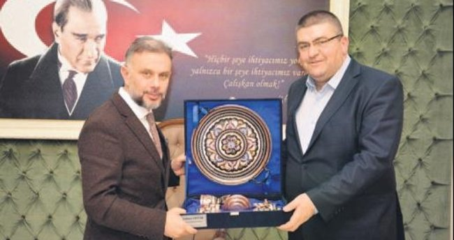 Kahramankazan'a Arnavutluk'tan konuk