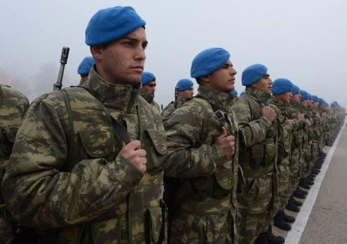 Mavi bereliler göreve hazır