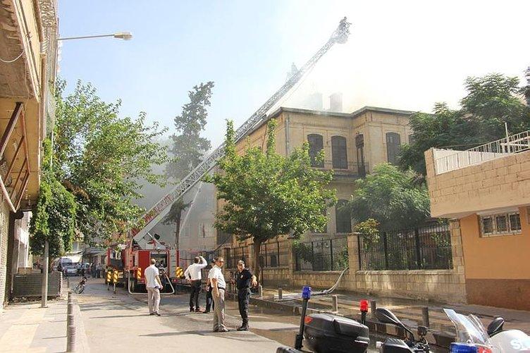 Kilis Müzesi'nde yangın
