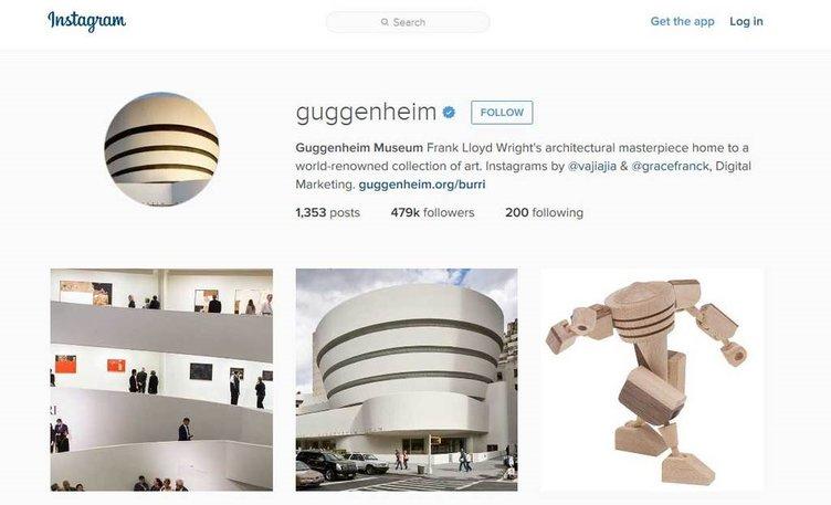 Sanat dolu Instagram sayfaları