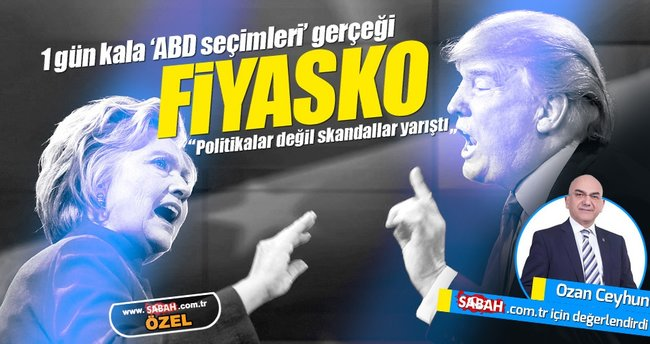 ABD'de son gün; Fiyasko bir seçim dönemi