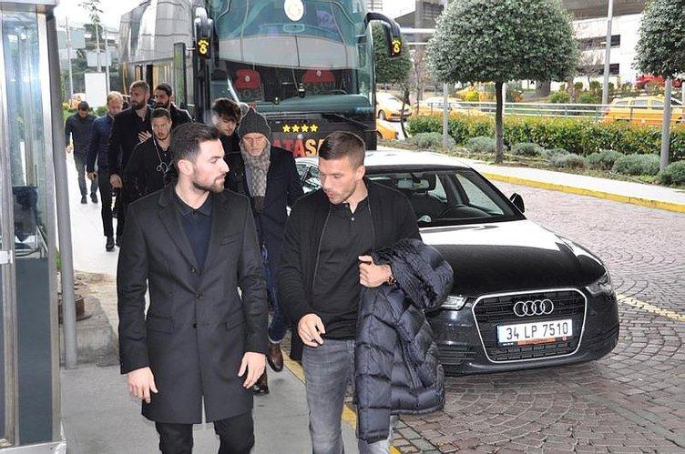 Galatasaray kafilesi, Umut Bulut için Kayseri'ye gitti