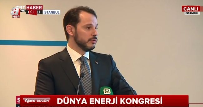 Enerji Bakanı Albayrak basının sorularını yanıtladı