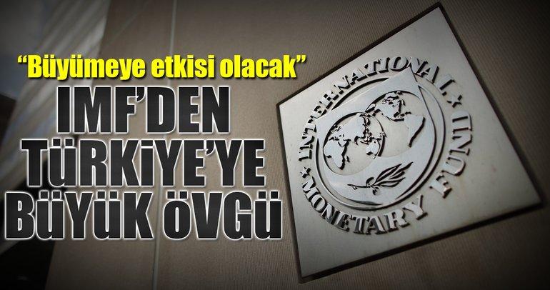 IMF'den yapısal reformlara övgü