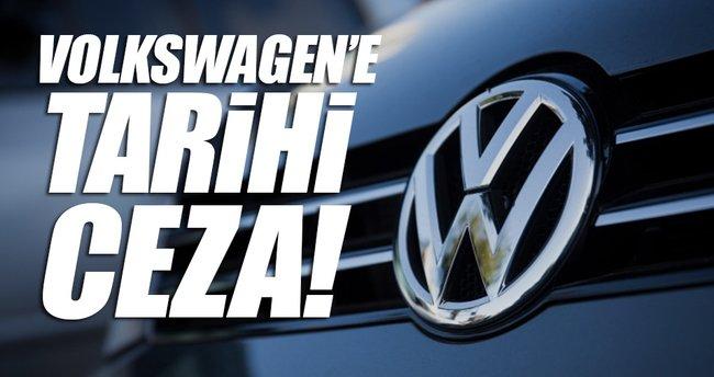 Volkswagen'e tarihi ceza!