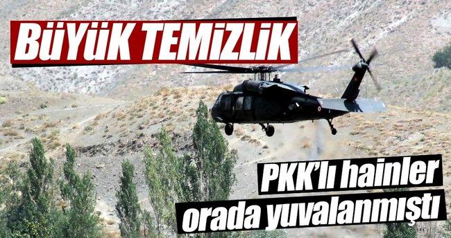 Tendürek Dağı'ndaki operasyonlar devam ediyor