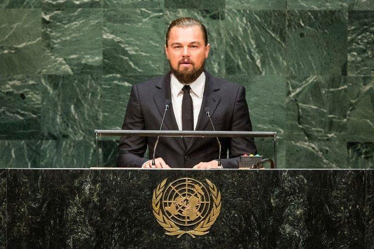 DiCaprio'nun konuşması olay oldu