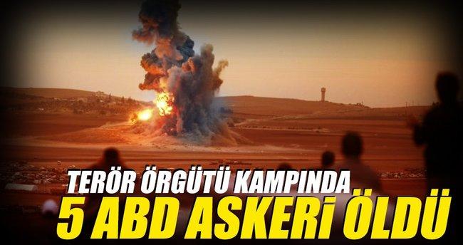 PYD kampı havaya uçtu: 5 ABD'li öldü