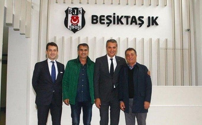 Beşiktaş'ta şok istifa!