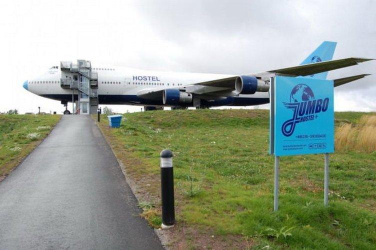 Boeing'i otel yaptılar