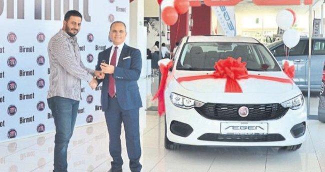 Birmot'a geldi Fiat Egea kazandı