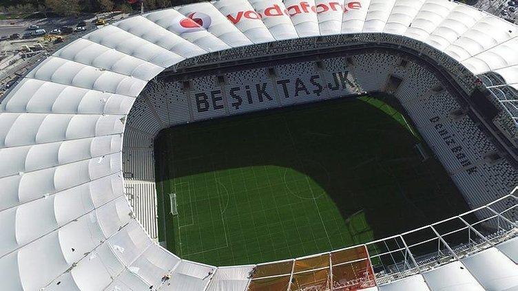 Vodafone Arena'nın son durumu havadan görüntülendi