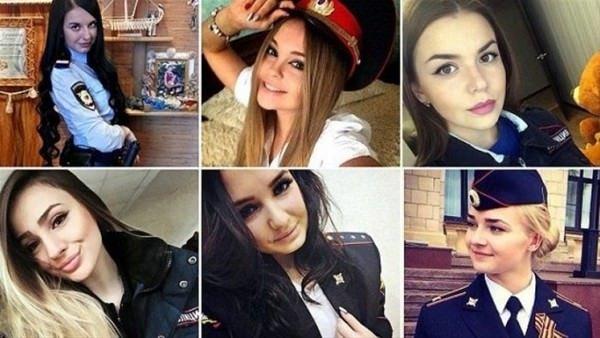 Rusya'da polis güzellik yarışması
