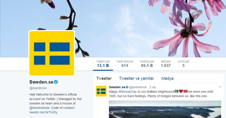 İsveç'in resmi Twitter hesabında İsrail'in Stockholm Büyükelçisi engellendi