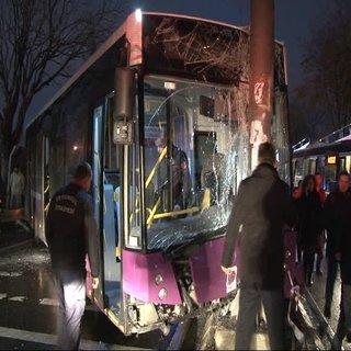 Kadıköy'de belediye otobüsü dehşeti 4 yaralı