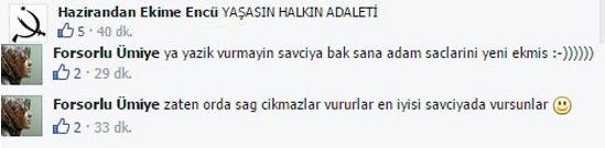 Teröristin fotoğrafına kan donduran yorumlar!