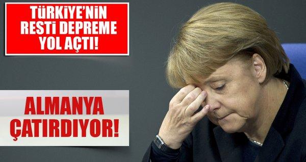 Son dakika haberi: Almanya'da İncirlik depremi! Koalisyon çatırdıyor...