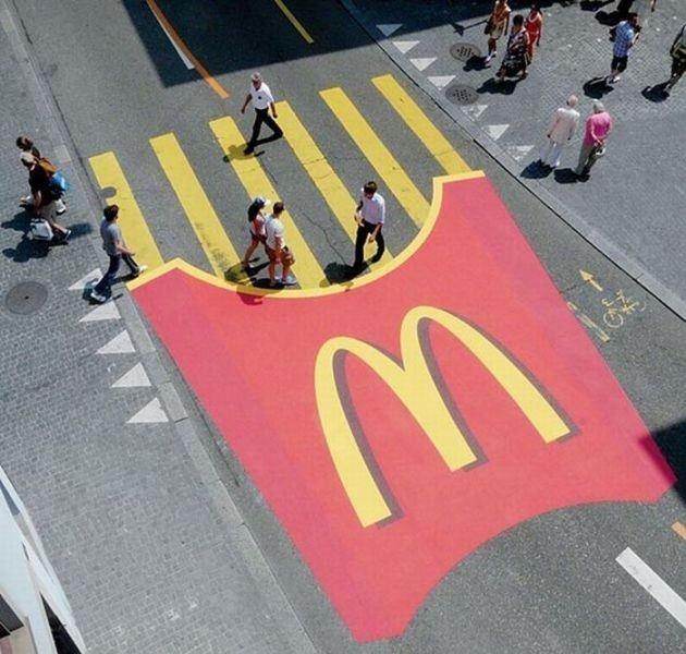 Sıradışı sokak reklamları