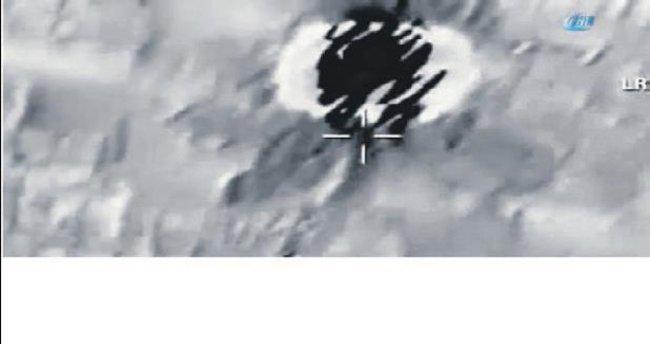 El Bab'a nokta atışı anı yayımlandı
