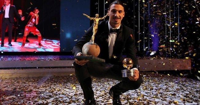İbrahimoviç 11. kez yılın futbolcusu