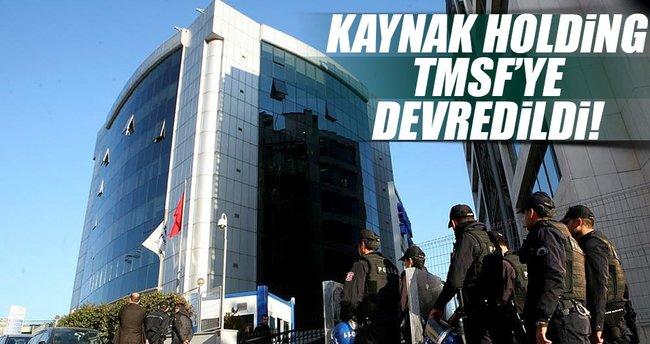 Kaynak Holding'e ve ona bağlı 31 şirket TMSF'ye devredildi
