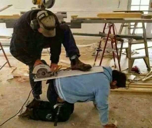 Birisi iş güvenliği mi dedi?