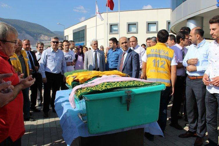 112 çalışanının cenazesinde mesai arkadaşları gözyaşlarına boğuldu