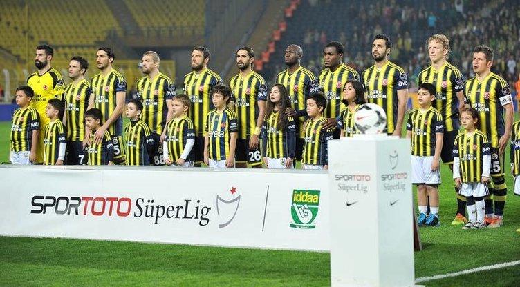 Fenerbahçe - Gençlerbirliği maçından kareler