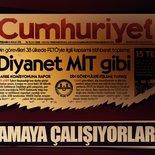Cumhuriyet Gazetesi Diyanet'i hedef aldı!