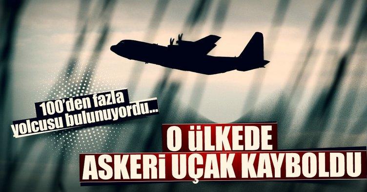 Son dakika...116 yolcusu bulunan uçak kayboldu!