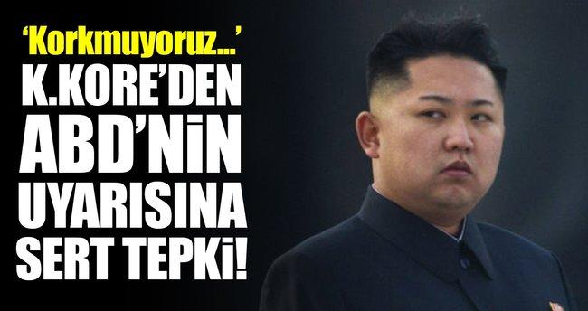 Kuzey Kore'den ABD'nin askeri müdahale uyarısına tepki!