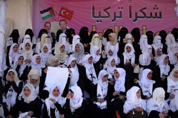 Gazze'de iki bin çift dünya evine girdi