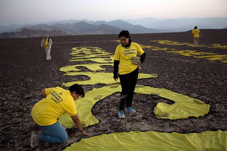 Greenpeace 'aptalca' hareket etti