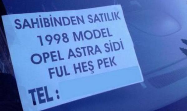 Türk'ün ingilizcesi