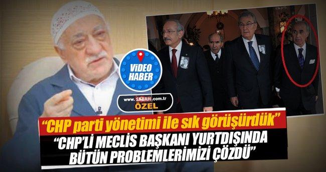 Teröristbaşı Gülen: CHP parti yönetimi ile sık görüşürdük