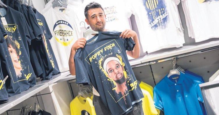 Tişört satarak Fenerbahçe'ye 6 milyon TL kazandırdılar