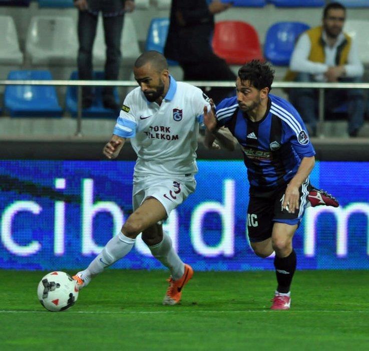Kayseri Erciyesspor-Trabzonspor maçından kareler