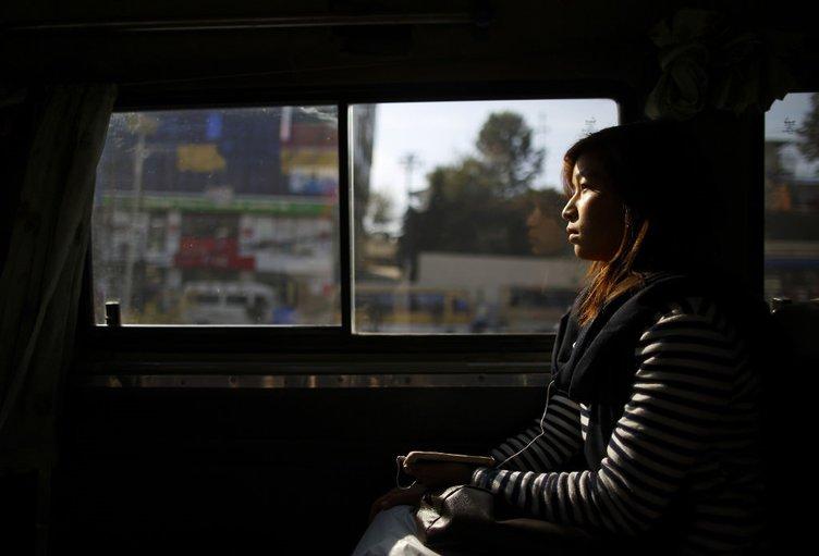 Bu otobüse erkeklerin binmesi yasak!
